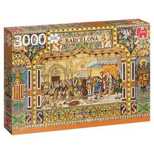 Fliesen aus Barcelona - 3000 Teile Puzzle