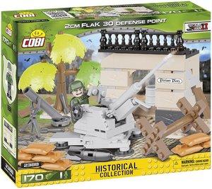 COBI 2388 - 2cm Flak 30 Defense Point, Kanone, WWII, Bausatz, 17