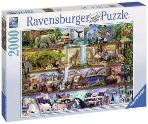 Ravensburger 16652 - Aimee Steward, Großartige Tierwelt, 2000 Te