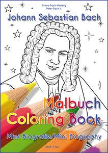 Johann Sebastian Bach - Malbuch/Coloring Book