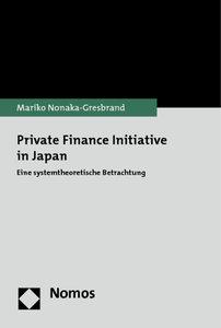 Private Finance Initiative in Japan