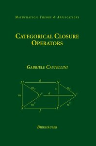 Categorical Closure Operators