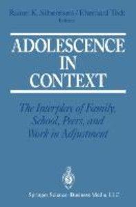 Adolescence in Context