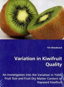 Variation in Kiwifruit Quality