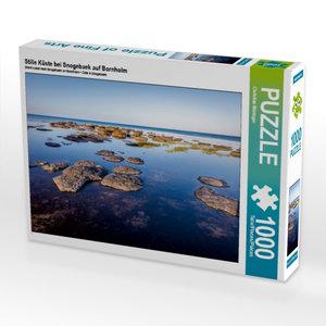 Stille Küste bei Snogebaek auf Bornholm 1000 Teile Puzzle quer
