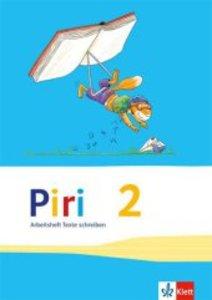Piri Das Sprach-Lese-Buch. Arbeitsheft Druckschrift 2. Schuljahr