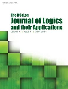 IfColog Journal of Logics and Their Applications Volume 1, Numbe