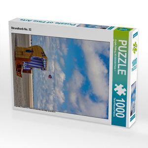 Strandkorb No. 32 1000 Teile Puzzle hoch