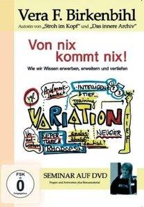 Von nix kommt nix, 1 DVD