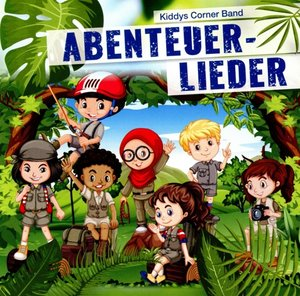 Abenteuerlieder, 1 Audio-CD