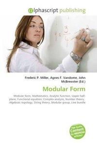 Modular Form