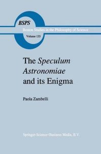 The Speculum Astronomiae and Its Enigma