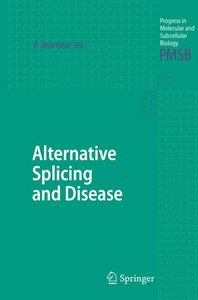 Alternative Splicing and Disease