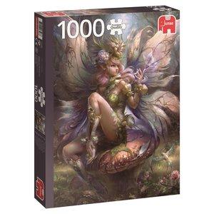 Jumbo 18598 , Zauberhafte Fee, Puzzle, 1000 Teile