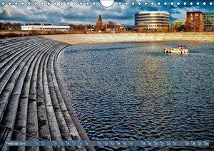 Duisburger Innenhafen (Wandkalender 2019 DIN A4 quer)