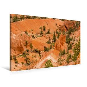 Premium Textil-Leinwand 75 cm x 50 cm quer Bryce Canyon