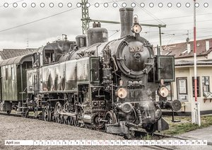 Dampflokomotiven - dampfende Stahlkolosse