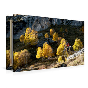 Premium Textil-Leinwand 90 cm x 60 cm quer Como/Italy,