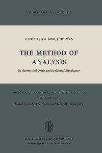The Method of Analysis