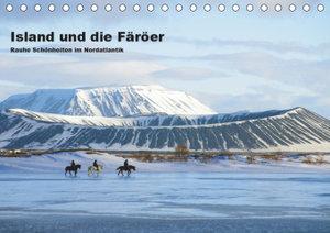 Island und die Färöer (Tischkalender 2019 DIN A5 quer)