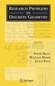 Research Problems in Discrete Geometry