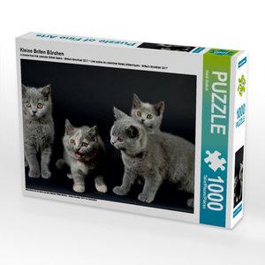 Kleine Briten Bärchen 1000 Teile Puzzle quer