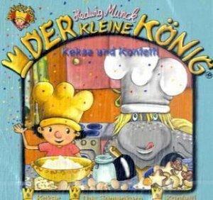 Der kleine König, Kekse und Konfetti, 1 Audio-CD