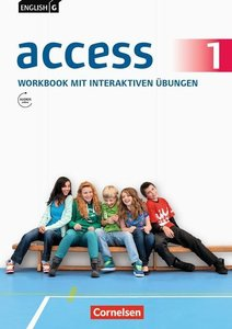 English G Access 01: 5. Schuljahr. Workbook mit CD-ROM (e-Workbo