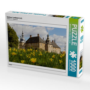 Schloss Lembeck (LU) 1000 Teile Puzzle quer