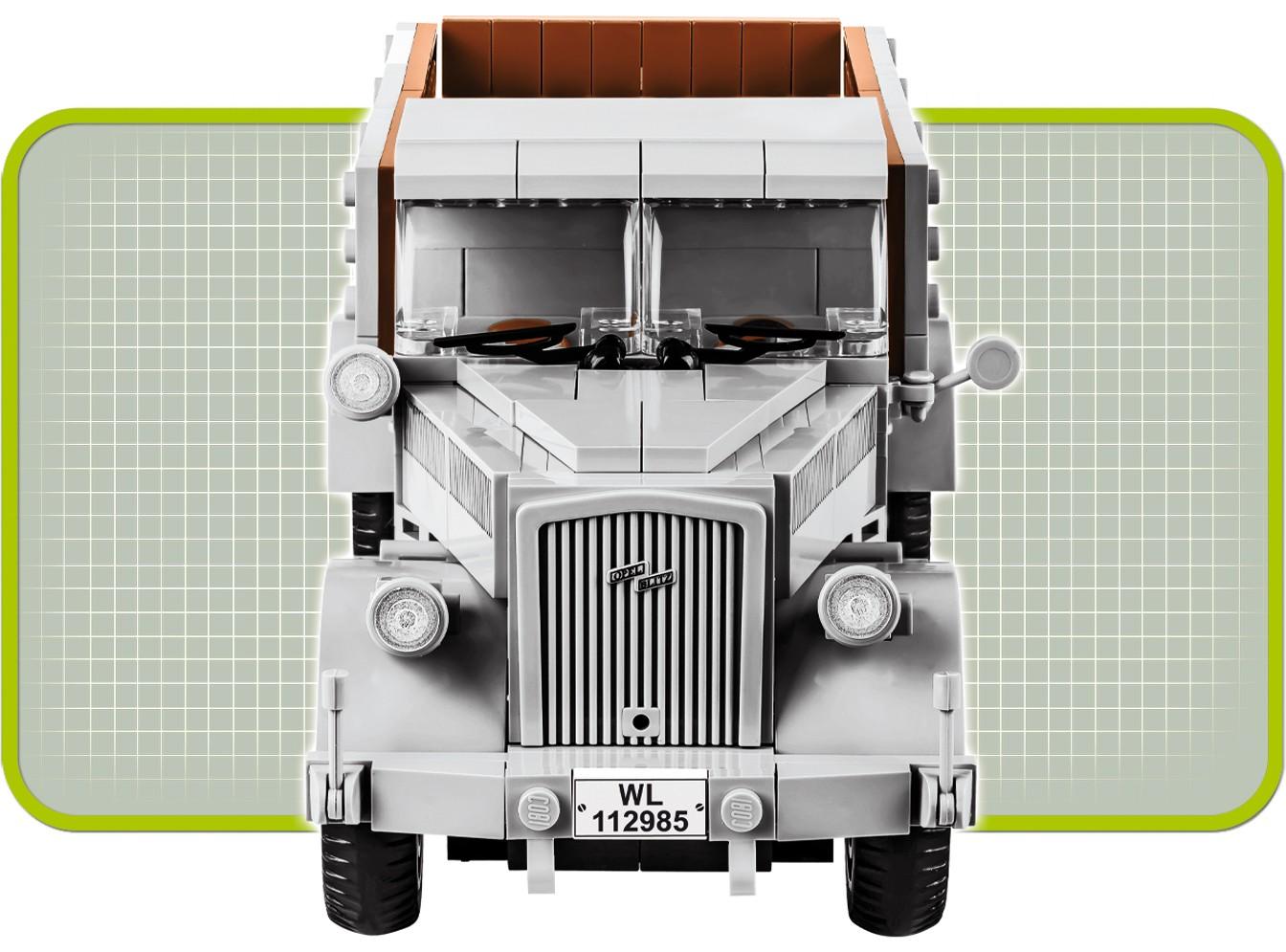 Cobi 2449A Opel Blitz 3t Armee Lastwagen 2 Weltkrieg WW2 Baustein-Modell 310T