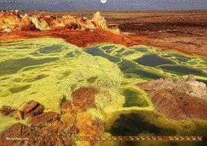 Vulkane Äthiopiens - Erta Ale und Dallol (Wandkalender 2019 DIN