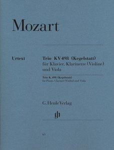 Trio Es-dur KV 498 (Kegelstatt) für Klavier, Klarinette (Violine