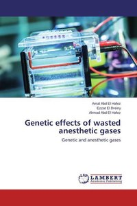 Genetic effects of wasted anesthetic gases