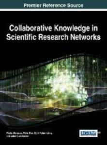 Collaborative Knowledge in Scientific Research Networks