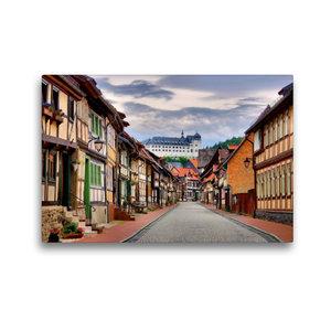 Premium Textil-Leinwand 45 cm x 30 cm quer Stolberg