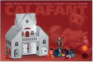 Calafant D2505X - Puppenhaus, Bastelset, LEVEL 3, 38,5 x 18,5 x