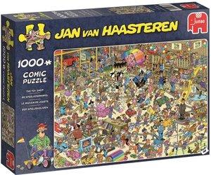 Jumbo 19073 - Jan van Haasteren, Das Spielzeuggeschäft, Comic Pu