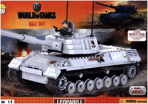 World of Tanks - Bausatz Leopard 1