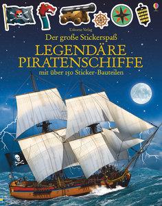 Der große Stickerspaß: Legendäre Piratenschiffe