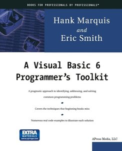 A Visual Basic 6 Programmer's Toolkit