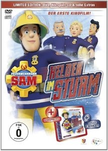 Feuerwehrmann Sam - Helden im Sturm. DVD + CD Hörspiel (Kinofilm