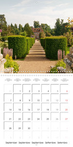 The Lovely Gardens of South England (Wall Calendar 2020 300 × 30