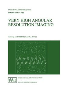 Very High Angular Resolution Imaging