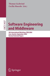 Software Engineering and Middleware