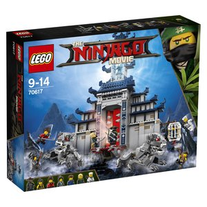 LEGO® NINJAGO 70617 - Ultimativ ultimatives Tempel-Versteck