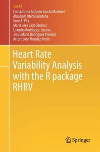Heart Rate Variability Analysis with the R package RHRV