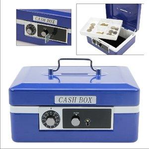 Spardose Geldkassette mit Original-Kombinationsschloss