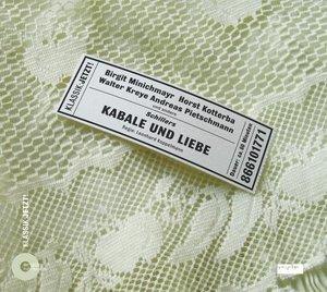 Kabale und Liebe. CD