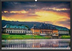 Burgen und Schlösser um Dresden