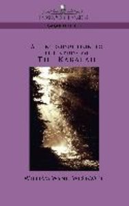 An Introduction to the Study of The Kabalah